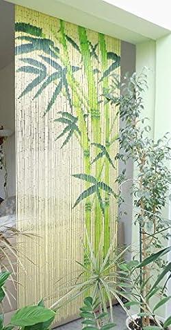 Bamboo curtain door curtain