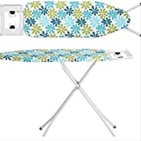 V.K_Extra Large Foldable Ironing Board with Ironing Table with Iron Stand (Multi Colour)