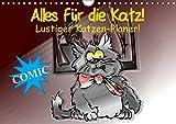 Alles für die Katz! Lustiger Katzen-Planer (Wandkalender 2018 DIN A4 quer): Witziger Comic-Planer für Katze und Mensch! (Geburtstagskalender, 14 ... [Kalender] [Apr 04, 2017] Stanzer, Elisabeth