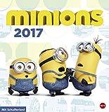 Minions Posterkalender - Kalender 2017 - Heye-Verlag - Wandplaner mit Schulferien - 32 cm x 33 cm
