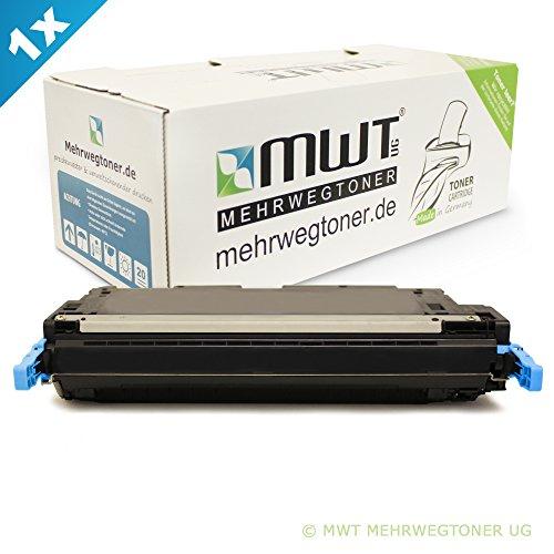MWT Toner XL Cyan kompatibel remanufactured für HP CLJ CP4005 CP4005N CP4005DN - Color Laserjet CP 4005 N DN 4005N 4005DN - CB401A XXL - Clj Cp4005 Serie