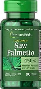 Palmier nain 450 mg Saw Palmetto 100 capsules