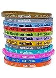 Primary Classroom Resources Multibandz–Maths tabelline Wristbands