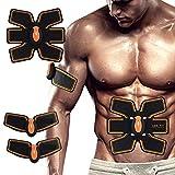 XYYMC Appareil Abdominal Muscle Stimulateur, EMS ABS Muscle Trainer Massage Home Fitness Apparatus Unisex