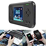 Goglor Retro Game Console & Power Bank 2 In 1, 2.8 Inch Game Handheld Console Built In 416 Classic Games, 8000mah Power Bank Charger USB C Fast Charging, Portable Gaming System Video Game Console