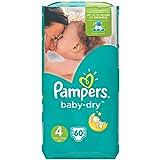 Pampers-Dry Pack Mini 60Windeln Gr. 4Für Kleinkinder von 8–16kg