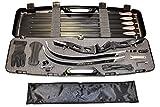 Einsteigerset Bogenset Core Air mit ILF Wurfarmen XT 100 Koffer