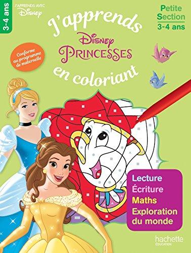Les princesses j'apprends en coloriant PS