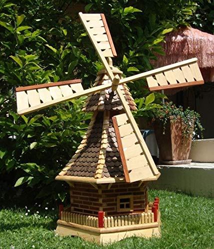 XL Windmühle, windmühlen garten