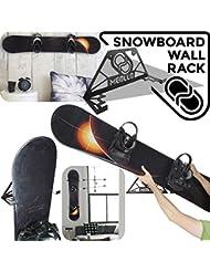 Support mural rangement pour snowboard (100% Acier)