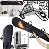 Snowboard wandhalterung (100% Stahl)