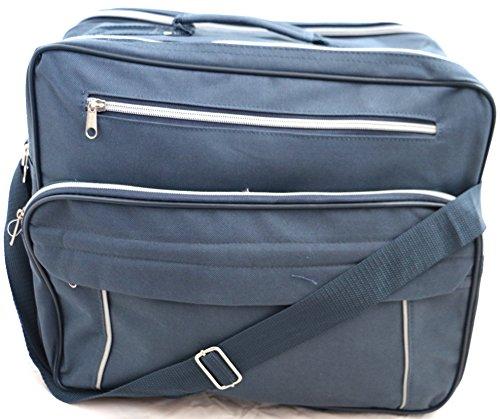 Leichte Reisetasche Handgepäck Tasche Sporttasche Shoulder Bag, 28 Liter Dunkelblau