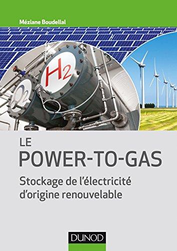 Le Power-to-Gas - Stockage de l'électricité d'origine renouvelable par Méziane Boudellal