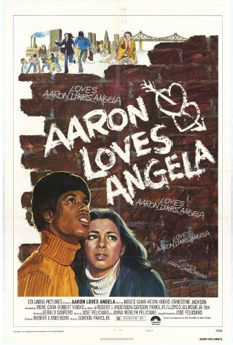 Aaron Loves Angela Affiche du film Poster Movie Aaron aime Angèle (11 x 17 In - 28cm x 44cm) Style A