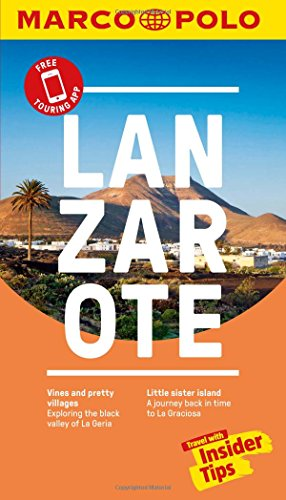 Lanzarote Marco Polo Pocket Travel Guide 2018 - with pull out map (Marco Polo Guides) (Marco Polo Pocket Guide)