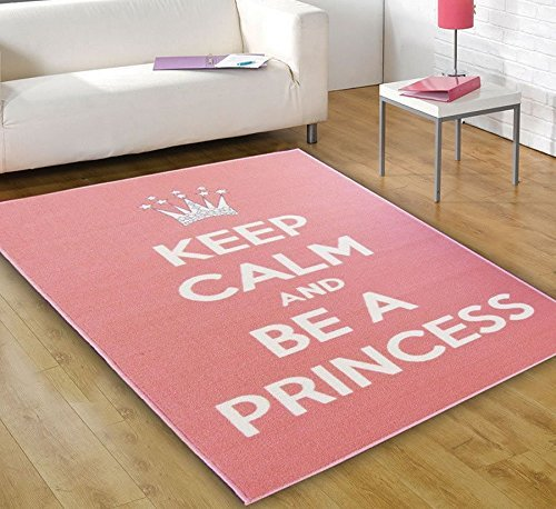 Keep Calm And be a princess Tappeto