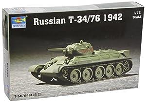 Trumpeter Tanque soviético  T34 escala 1:72