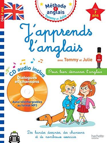 J'apprends l'anglais avec Tommy et Julie dès 7 ans par Sylvain Audino