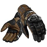 Revit Motorradhandschuhe Cayenne Pro, Farbe schwarz-sand, Größe L