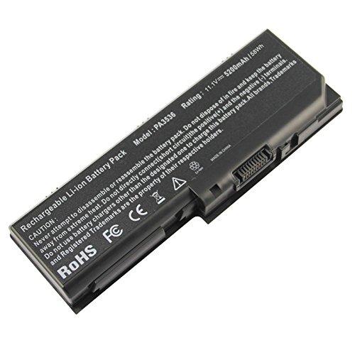 RayWEE Laptop-Batterie für Toshiba Satellite P200 P200D P205D P205 P305 P305D X200 X205 L305 L355 L350 Series Toshiba Equium P200 Series PA3536U-1BRS PA3537U-1BAS PA3537U-1BRS PABAS100 PABAS101 -