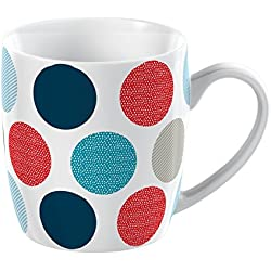 Creative Tops Everyday Home con textura China mug-p, cerámica, azul, 9.500 x 13.000 x 9.000 cm