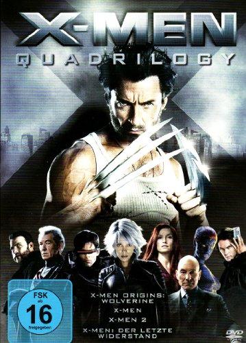 X-Men Quadrilogy [4 DVDs]