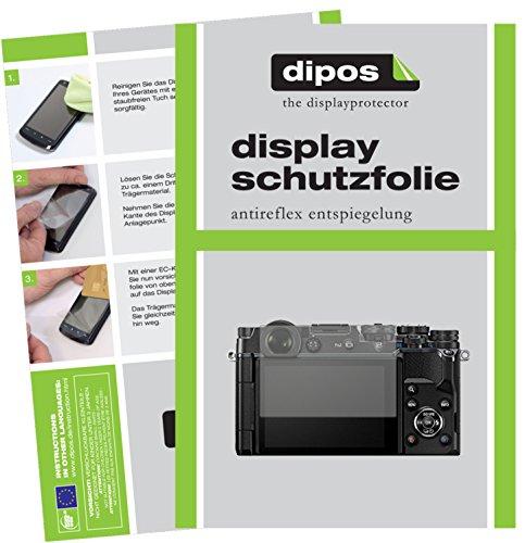 dipos I 6X Schutzfolie matt passend für Olympus Pen-F Folie Displayschutzfolie