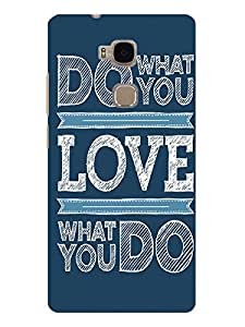 TREECASE Designer Printed Hard Back Case Cover For Huawei Honor 5X