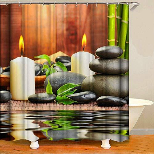 HHIAK666 Dusche Vorhang Sommer Kinder Sommer Urlaub Strand Tier Pflanze Blume Dekor Polyester Stoff Badezimmer Weiß 180 * 180Cm Pro (Stoff Dusche Vorhang Tiere)