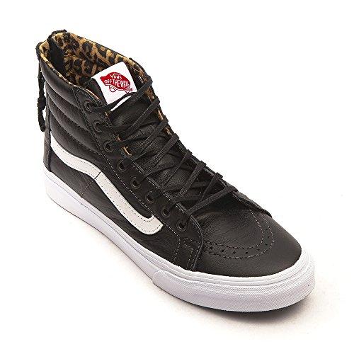 Vans SK8-Hi Slim Zip Black Leopard Black Leopard