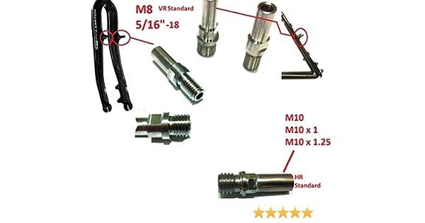 Cantisockel M10 V-Brake// Rahmen Paar Cantilever Sockel