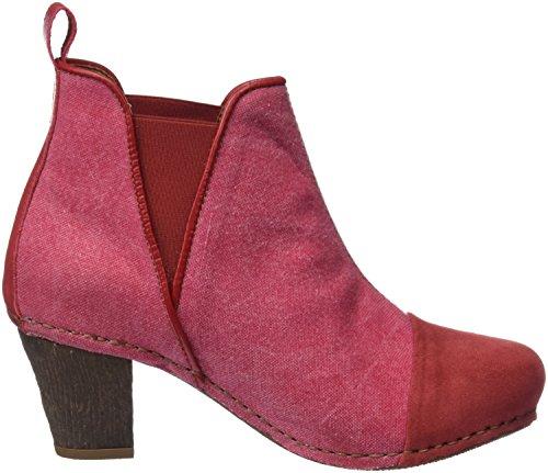 Art Damen 1272t Wax CA I Meet Kurzschaft Stiefel Rot (Granate)