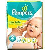 Pampers New Baby Taille 2 Mini 3-6kg (32) - Paquet de 2