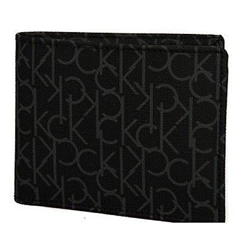 Portafoglio uomo log wallet CK CALVIN KLEIN art.K79120 col.999 NERO BLACK