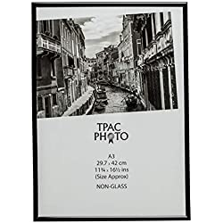 The Photo Album Company - Marco de foto, plástico, 29,7 x 42 cm, color Negro