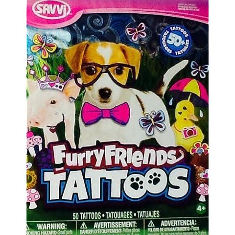 Temporary Tattoos ~ Furry Friends ~ Savvi
