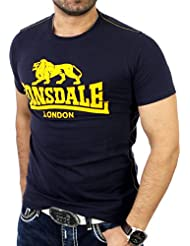 Lonsdale - Smith Reloaded, color azul , talla M
