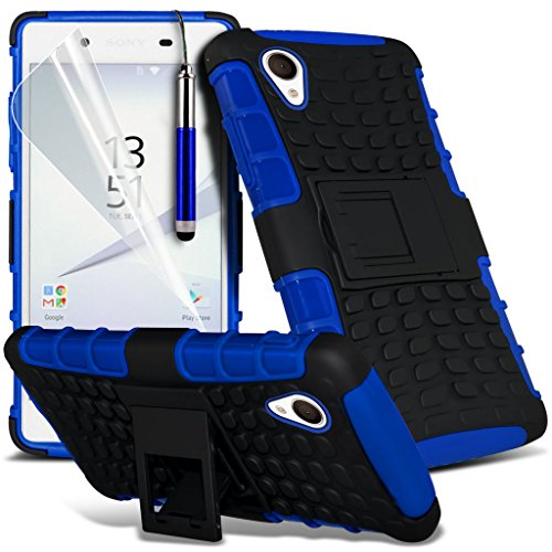(Clear) Fall für <b>      Apple iPhone 6s hülle     </b>     Fall hochwertiges und haltbares Survivor TPU Clear Gel Case Hülle+ Aluminium Ohrhörer Ohrhörer von i-Tronixs Shock proof + Pen (Blue)