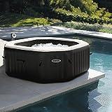 Intex Pure spa 4 places octogonal - bulles, jets, écostérilisateur
