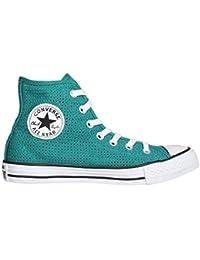 Converse Chuck Taylor All Star Season Hi, Baskets mode mixte adulte - Bleu (Emeraude), 39 EU