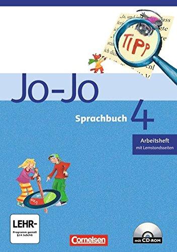 Jo-Jo Sprachbuch - Bisherige allgemeine Ausgabe 2004 / 4. Schuljahr - Arbeitsheft,