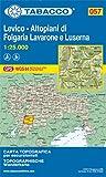 Levico. Altopiani di Folgaria, Lavarone e Luserna 1:25.000