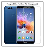 Annant Full Screen 0.3Mm Pro+ Edge To Edge Coverage 2.5D Curved 3D Tempered Glass Screen Guard Protector For Honor 7X - (Transparent)