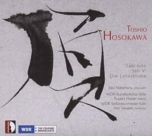 Hosokawa : Oeuvres percussion et orchestre. Nakamura.