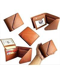 Top Grain Stylish Bi Fold Leather Wallet For Men (Triple Fold)