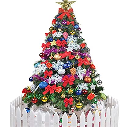 LJXJ-Knstliche-Weihnachtsbume-Pre-Bett-Fichte-Scharnier-Baum-Verschlsselung-Weihnachtsbaume-Fr-Outdoor-Bros-Weihnachtsschmuck