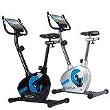 Heimtrainer RX300 Fitnessbike Ergometer Computer Pulssensoren Smartphone Halterung Schwarz