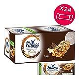 FITNESS Delice Duo Barretta di Cereali integrali con Cioccolato e Crema al Latte, 24 Pezzi
