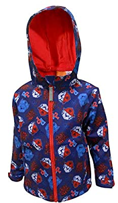 Boys Paw Patrol Hooded Jacket Kids Zipped Fleece Coat : everything five pounds (or less!)