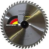 EDELSTAHL Kreissägeblatt 180x30 Z44 WZ Spezial-Sägeblatt für legierten Stahl wie V2A V4A NIROSTA stainless Steel. Für Dry-Cutter, Kappsägen, JEPSON, Kaltkreissägen, MAKITA, Metall Handkreissägen.